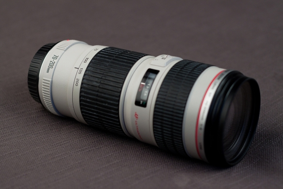 Canon 70-200mm f4 taken with 50mm f1.8